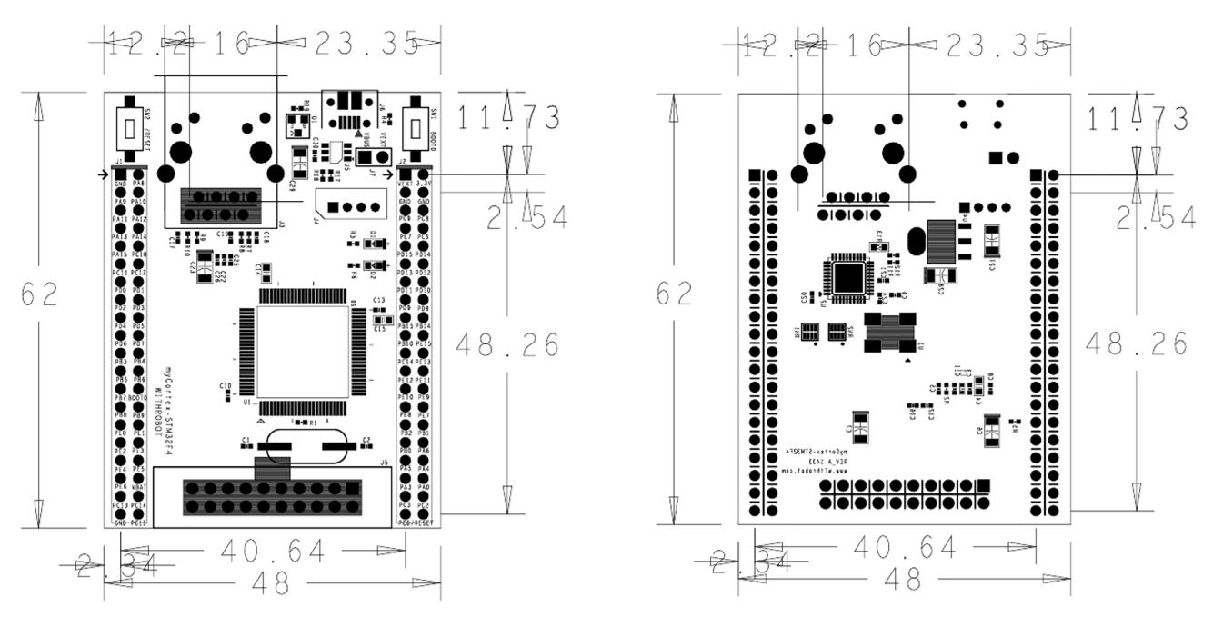 myCortex-STM32F4 – WITHROBOT
